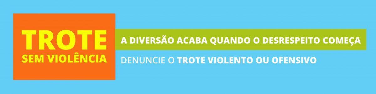 UFPR lança campanha para inibir trote violento e estimular denúncia de abusos